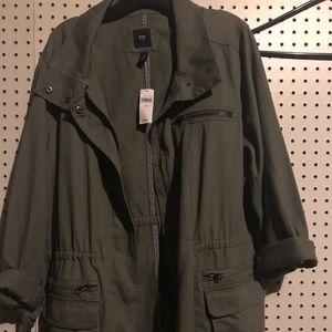 Gap Misses Military Green Utility Jacket